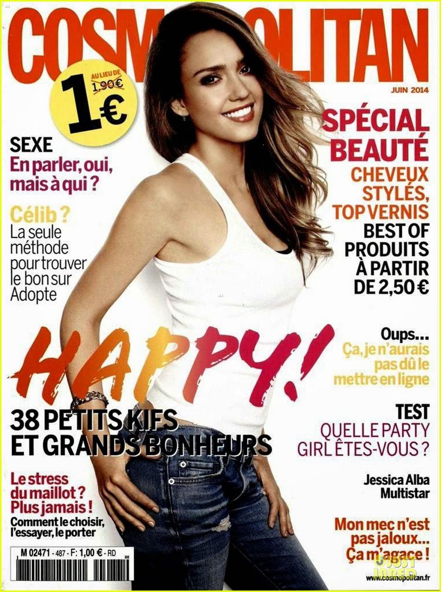 jessica alba cosmopolitan france june cover 043115346