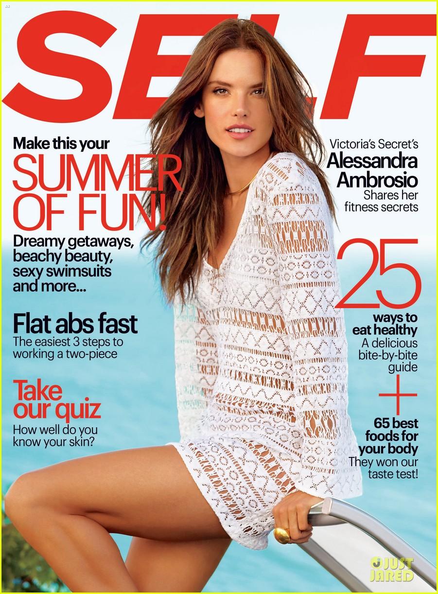 alessandra ambrosio covers self magazine june 2014 013118260
