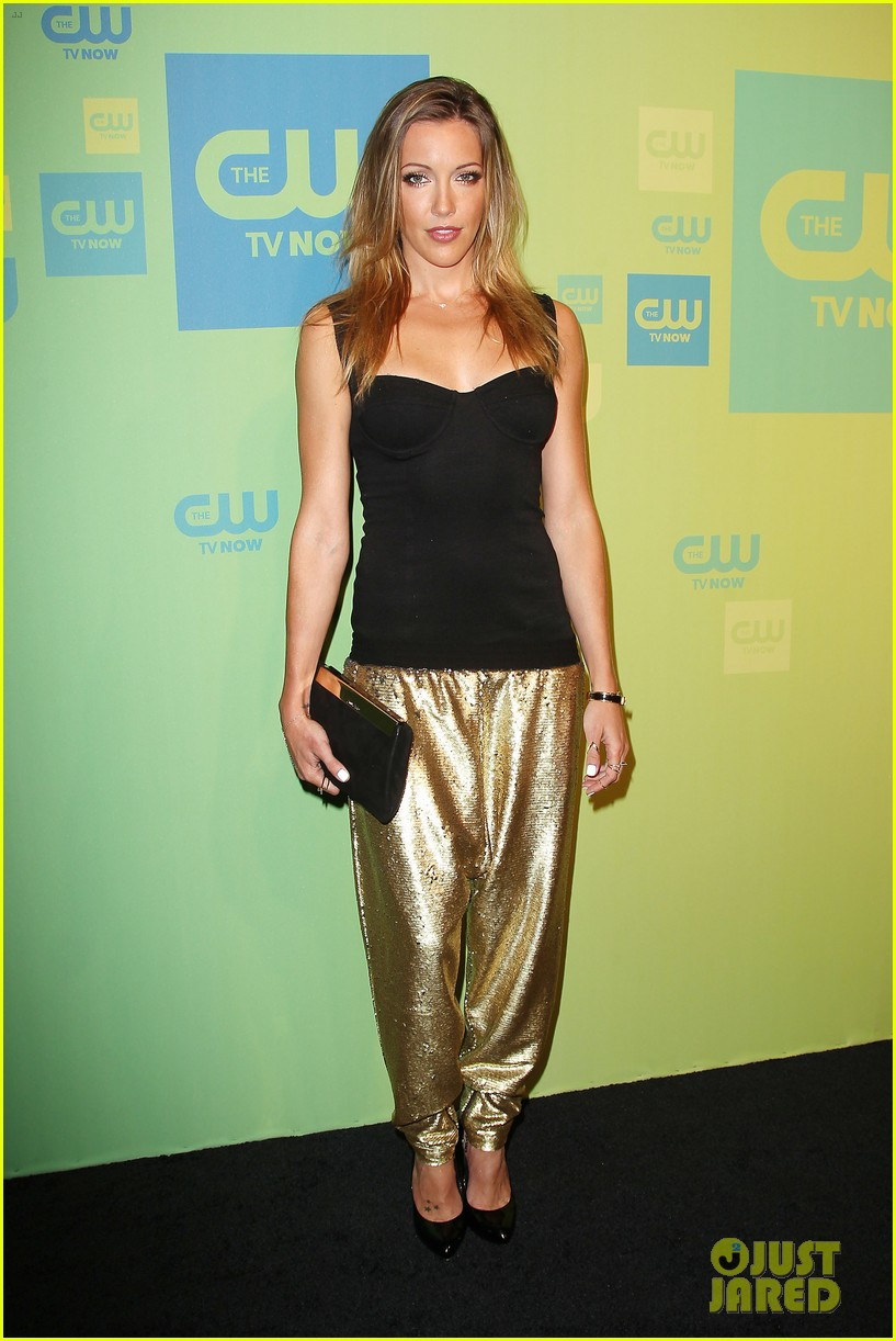 stephen amell katie cassidy arrow cw upfronts 2014 133114265
