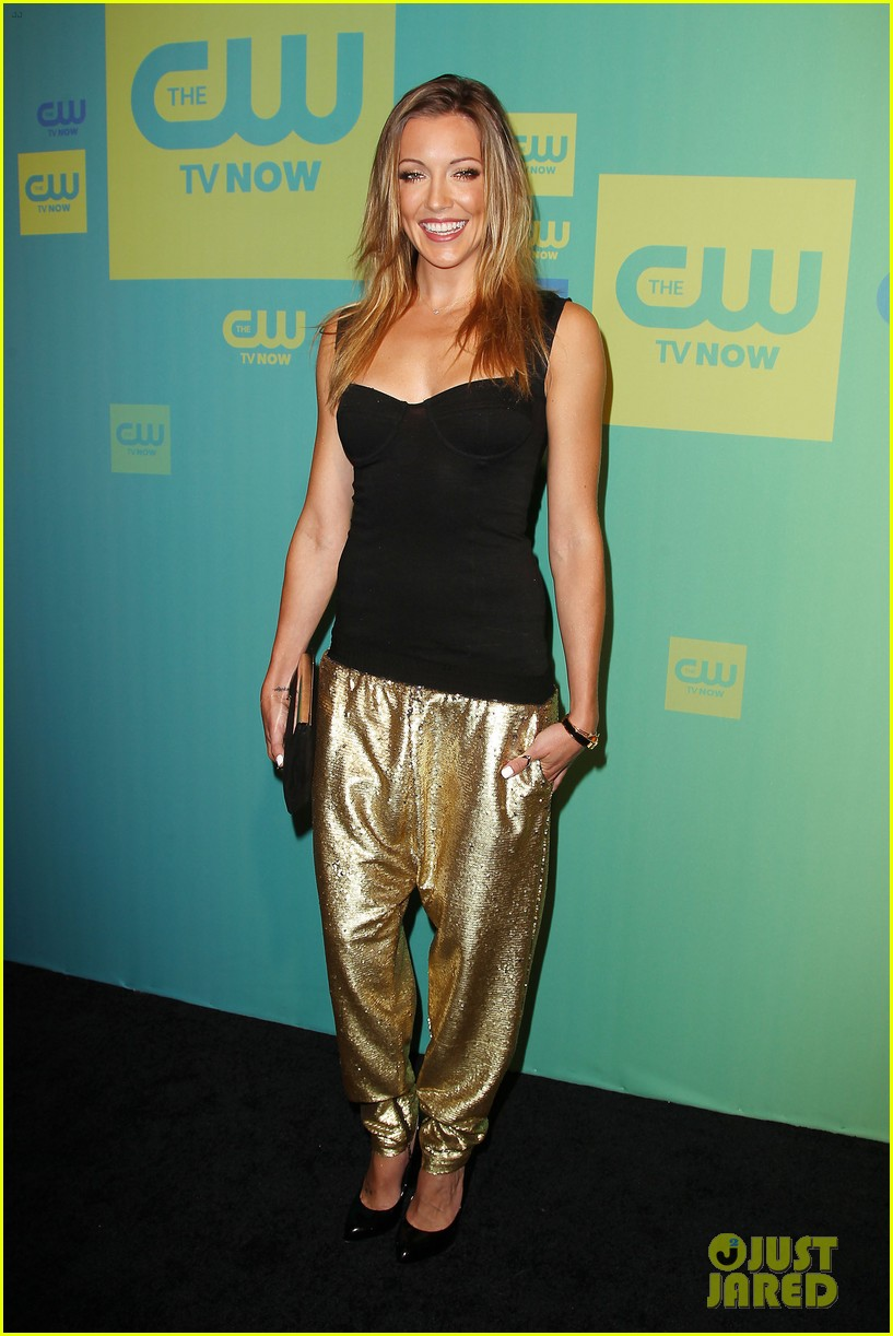stephen amell katie cassidy arrow cw upfronts 2014 163114268