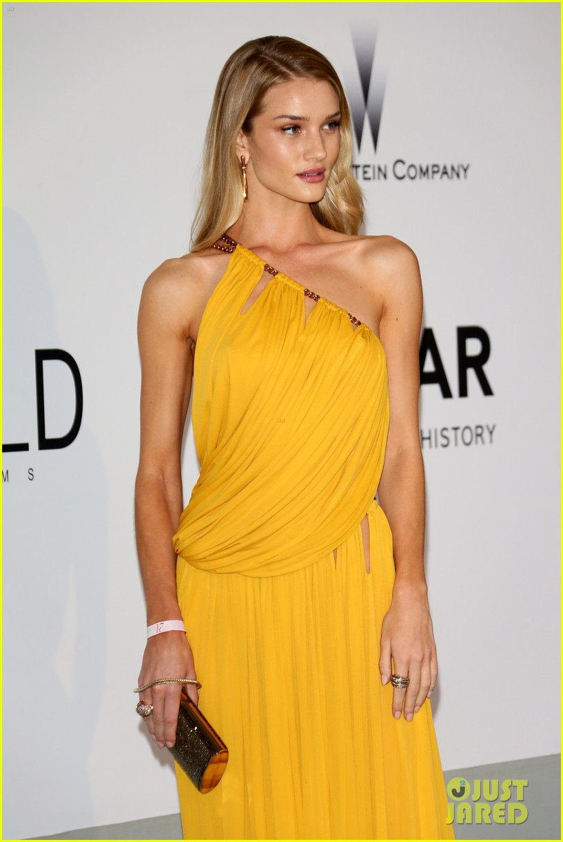 bar refaeli rosie huntington whiteley amfar gala 2014 123119967