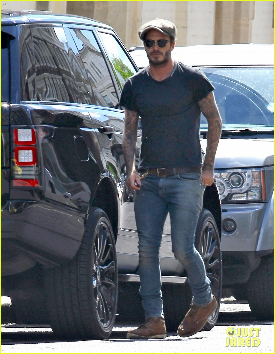 david beckham wears see through top to his swimwear launch event 033113731