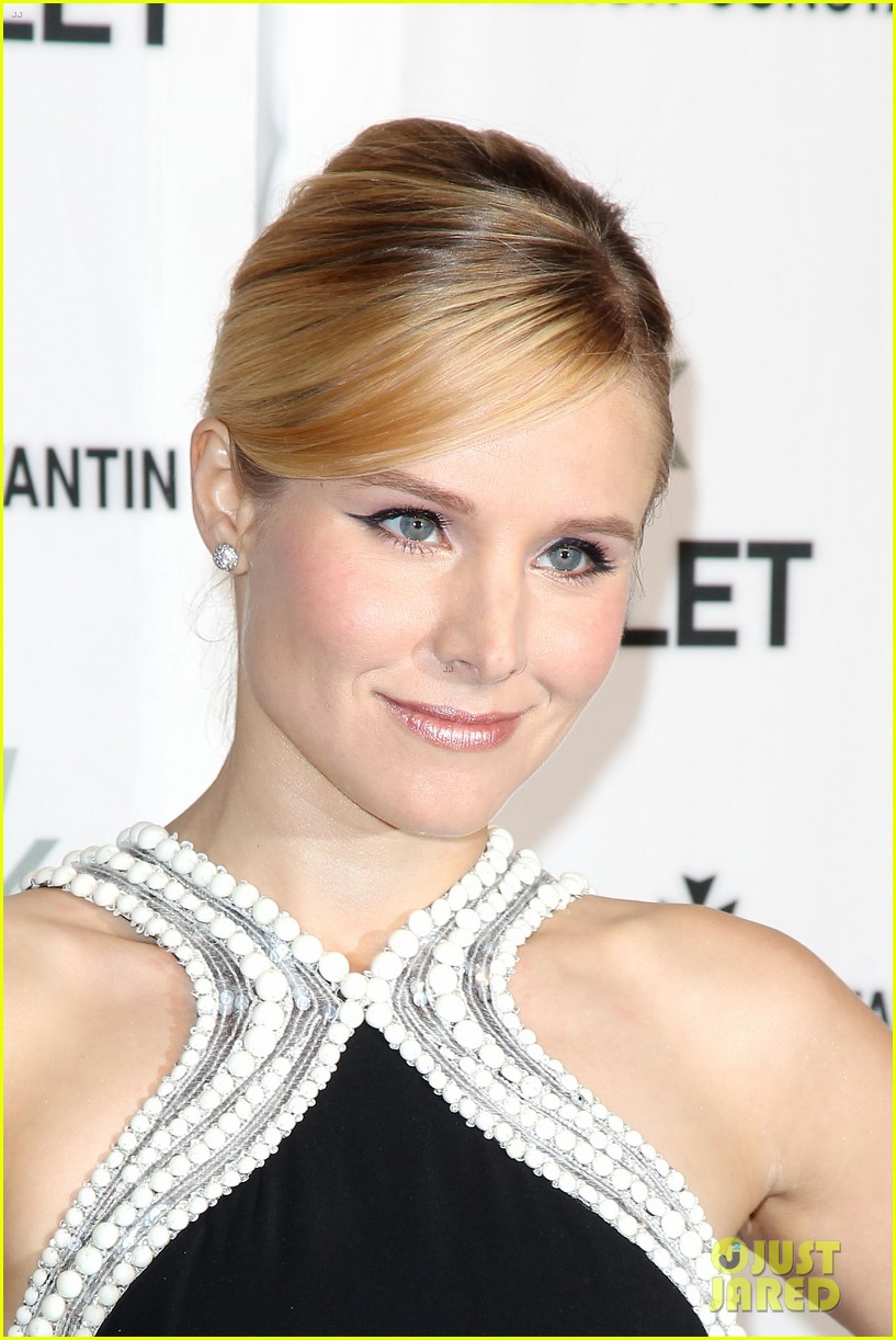 kristen bell is belle of the new york city ballet spring gala 2014 03