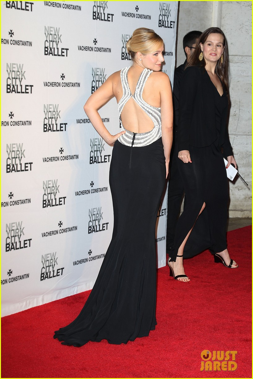 kristen bell is belle of the new york city ballet spring gala 2014 043109272