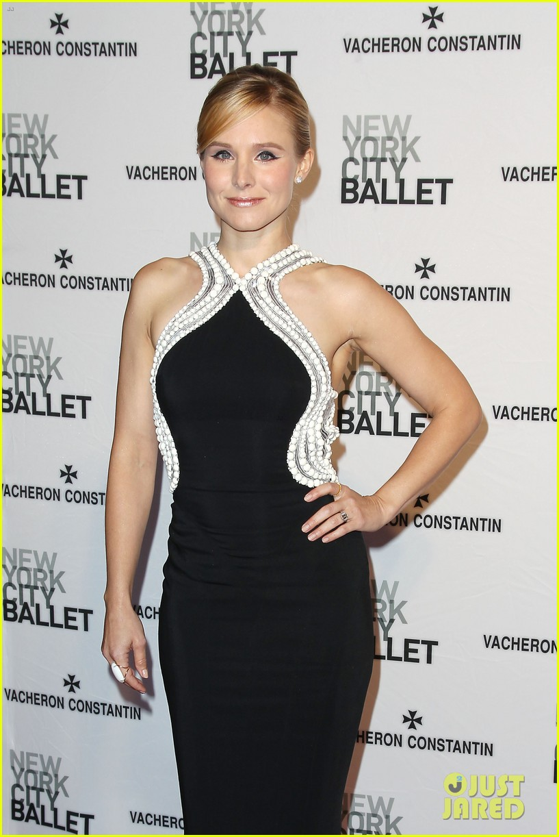 kristen bell is belle of the new york city ballet spring gala 2014 143109282