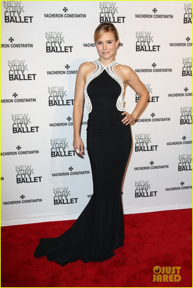 kristen bell is belle of the new york city ballet spring gala 2014 153109283