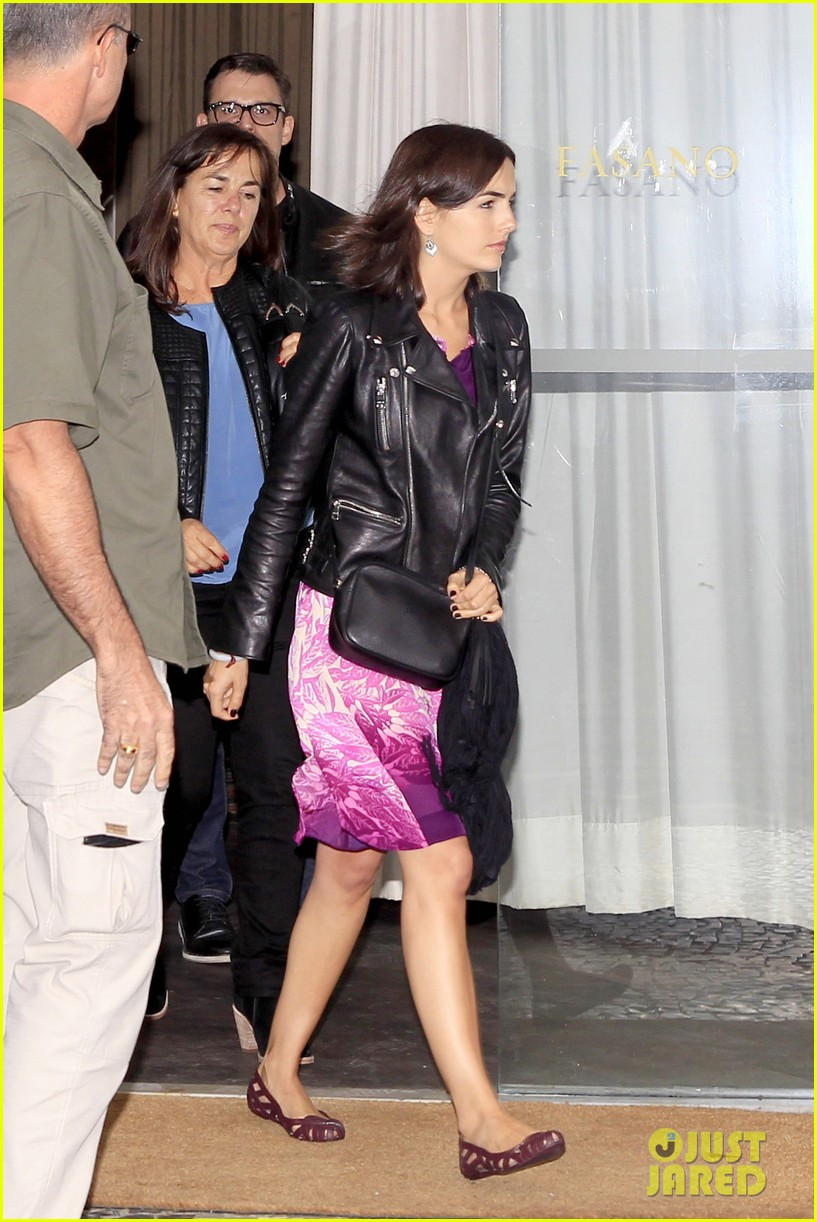 camilla belle continues her tour of brazil with gucci 213124825
