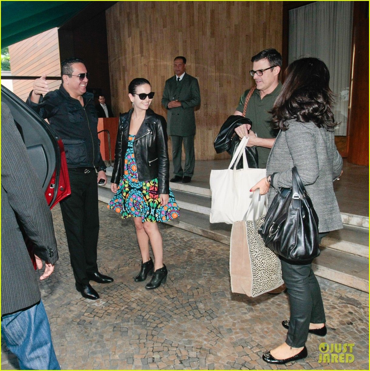 camilla belle heads to gucci photo shoot san paolo 05