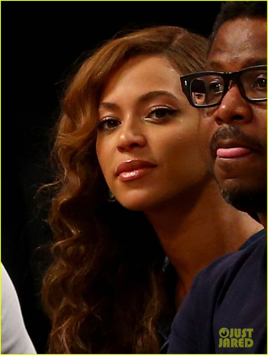beyonce jay z nets game after solange fight leaks 033112034