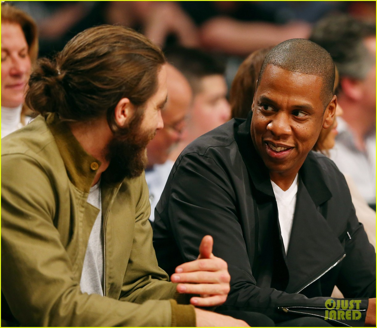 beyonce jay z nets game with jake gyllenhaal 063110508