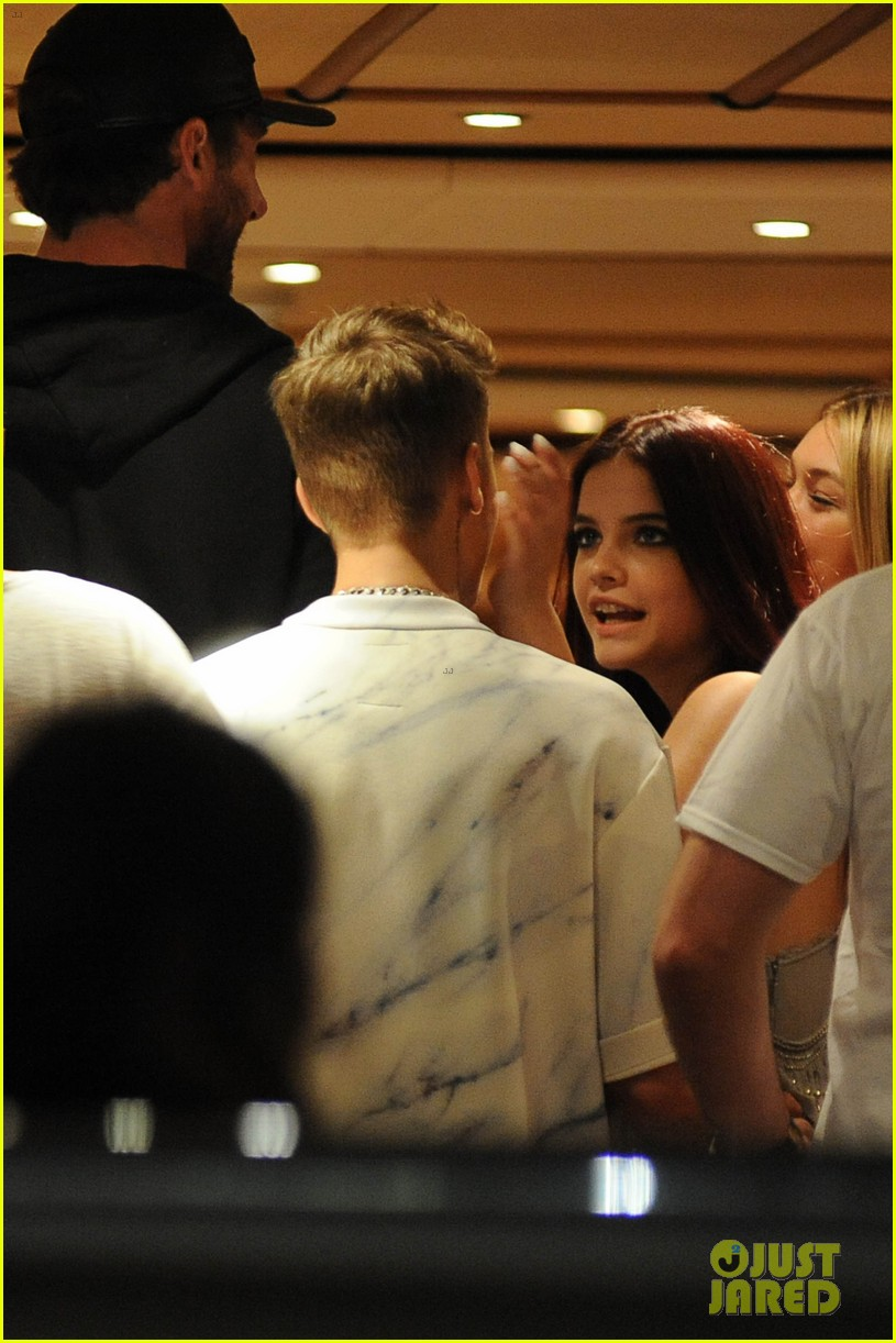 justin bieber barbara palvin cannes party 04
