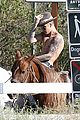 justin bieber shirtless horseback ride 14