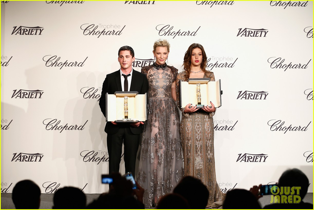 cate blanchett honors young stars with chopard trophy 053114601