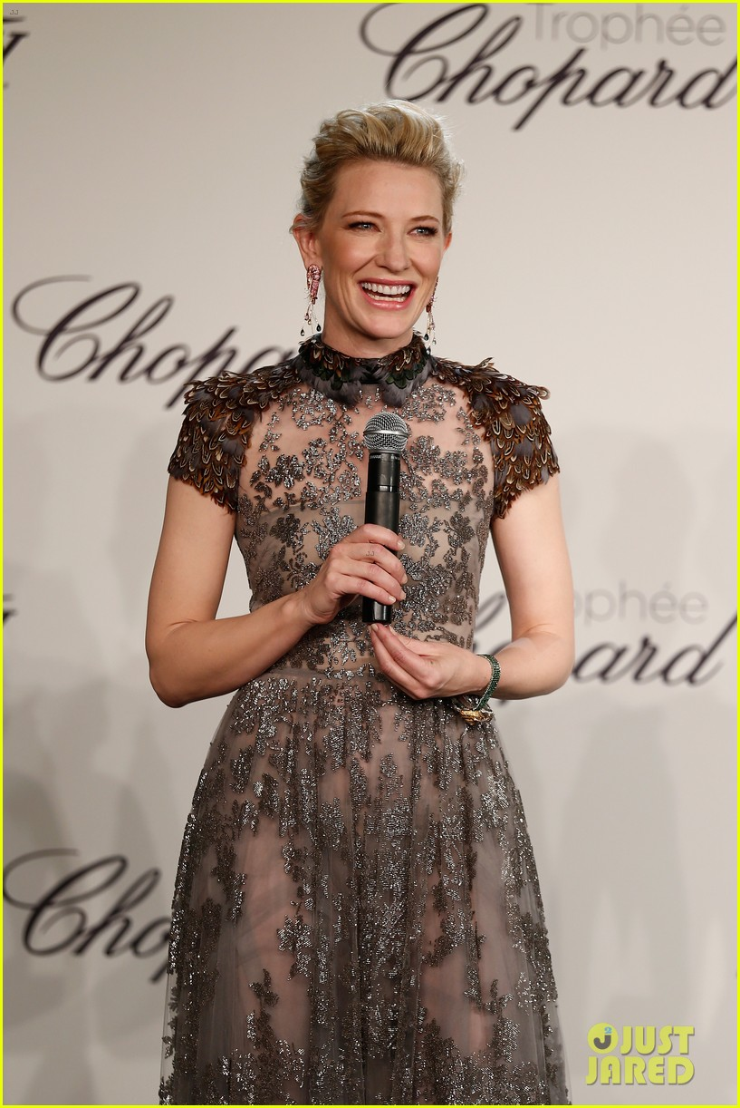 cate blanchett honors young stars with chopard trophy 083114604