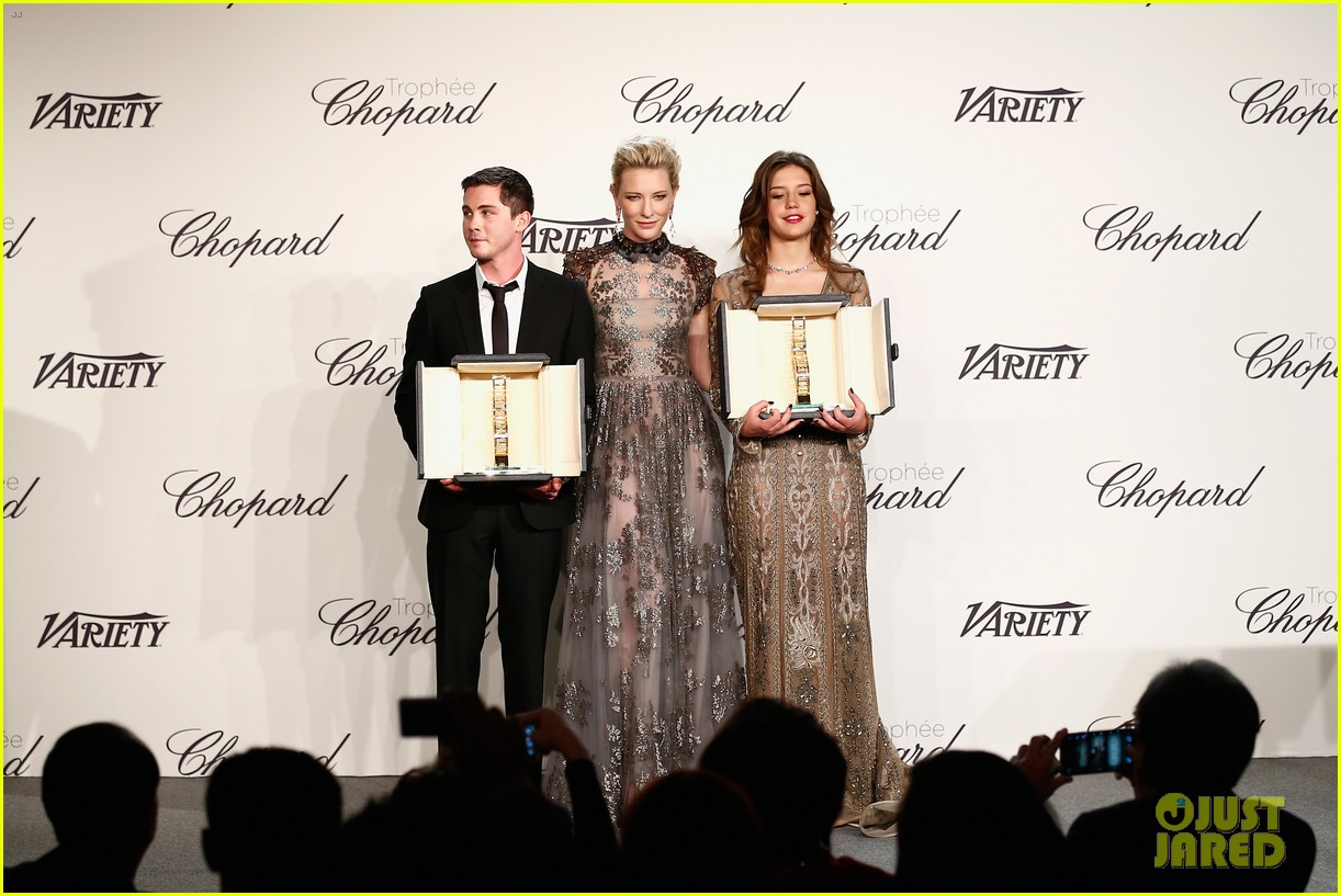 cate blanchett honors young stars with chopard trophy 113114607