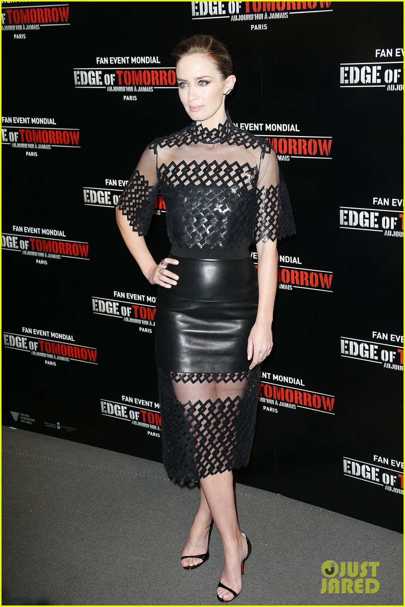tom cruise emily blunt premiere edge of tomorrow in second city of the day 123123340