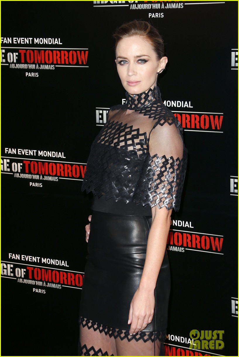 tom cruise emily blunt premiere edge of tomorrow in second city of the day 133123341
