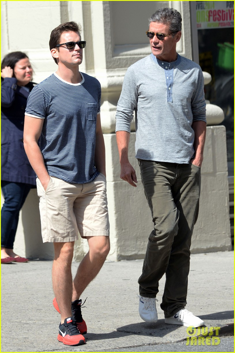 matt bomer husband simon halls enjoy nyc spring 013112627