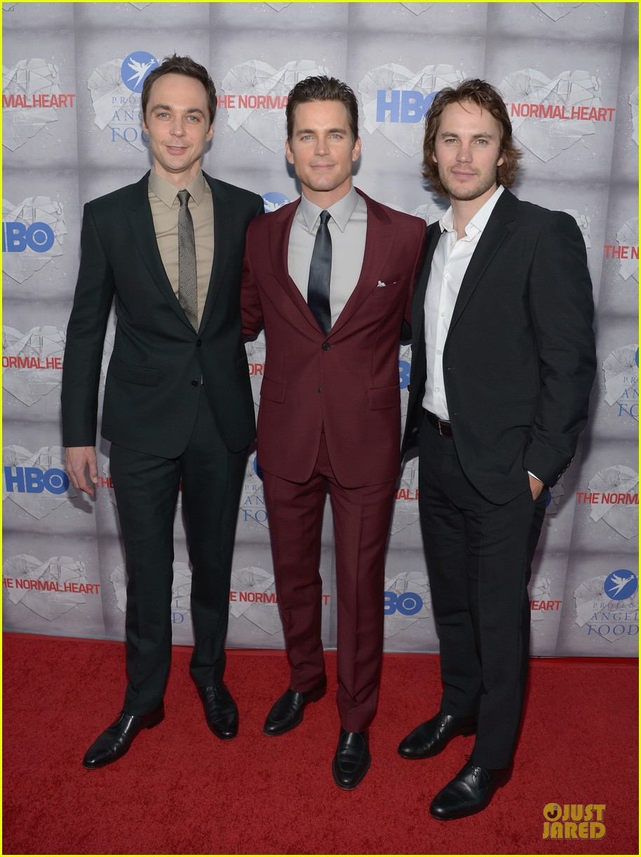 matt bomer maroon suit normal heart la premiere 013117901