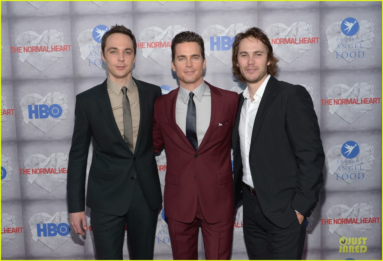 matt bomer maroon suit normal heart la premiere 09