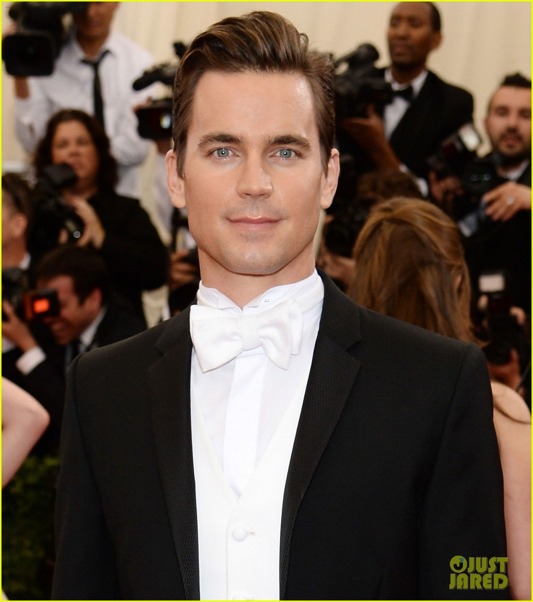 matt bomer met ball 2014 01
