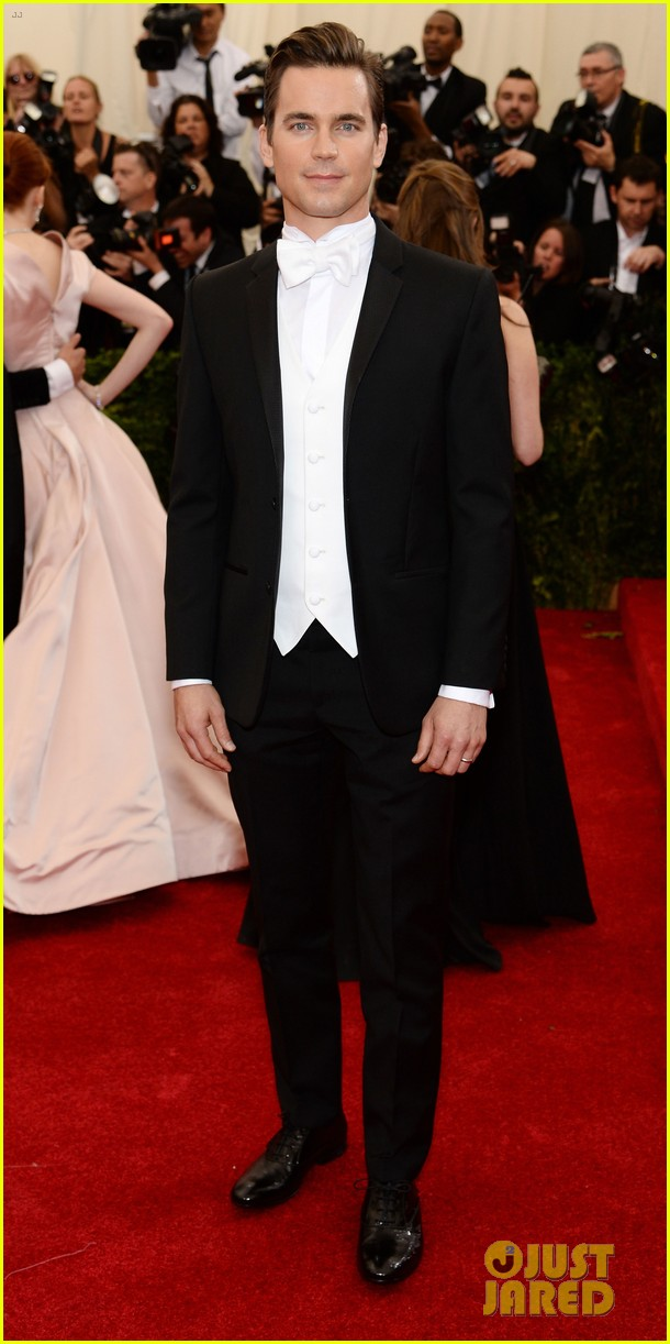 matt bomer met ball 2014 02