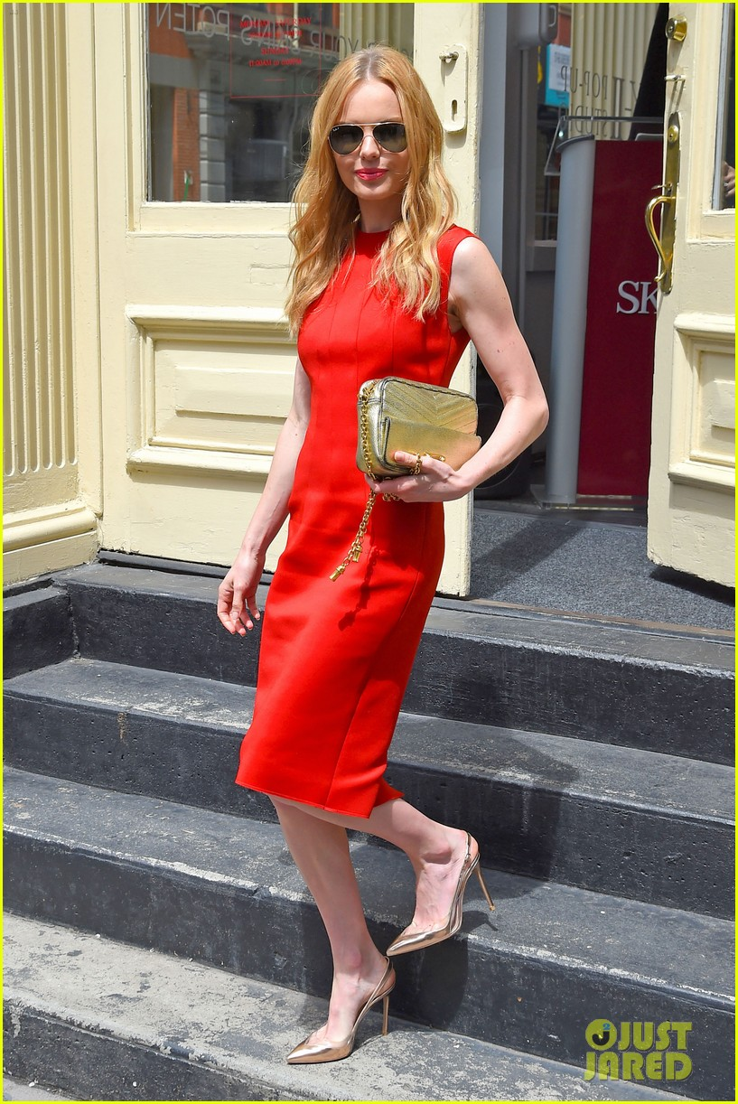 kate bosworth rocks three fashionable dresses for day out in nyc 063103723