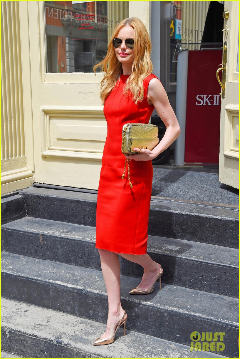 kate bosworth rocks three fashionable dresses for day out in nyc 093103726