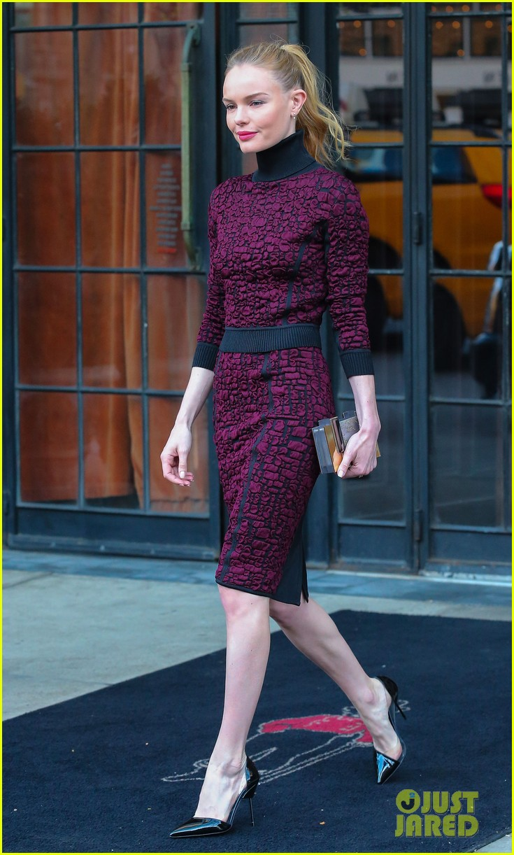 kate bosworth rocks three fashionable dresses for day out in nyc 113103728