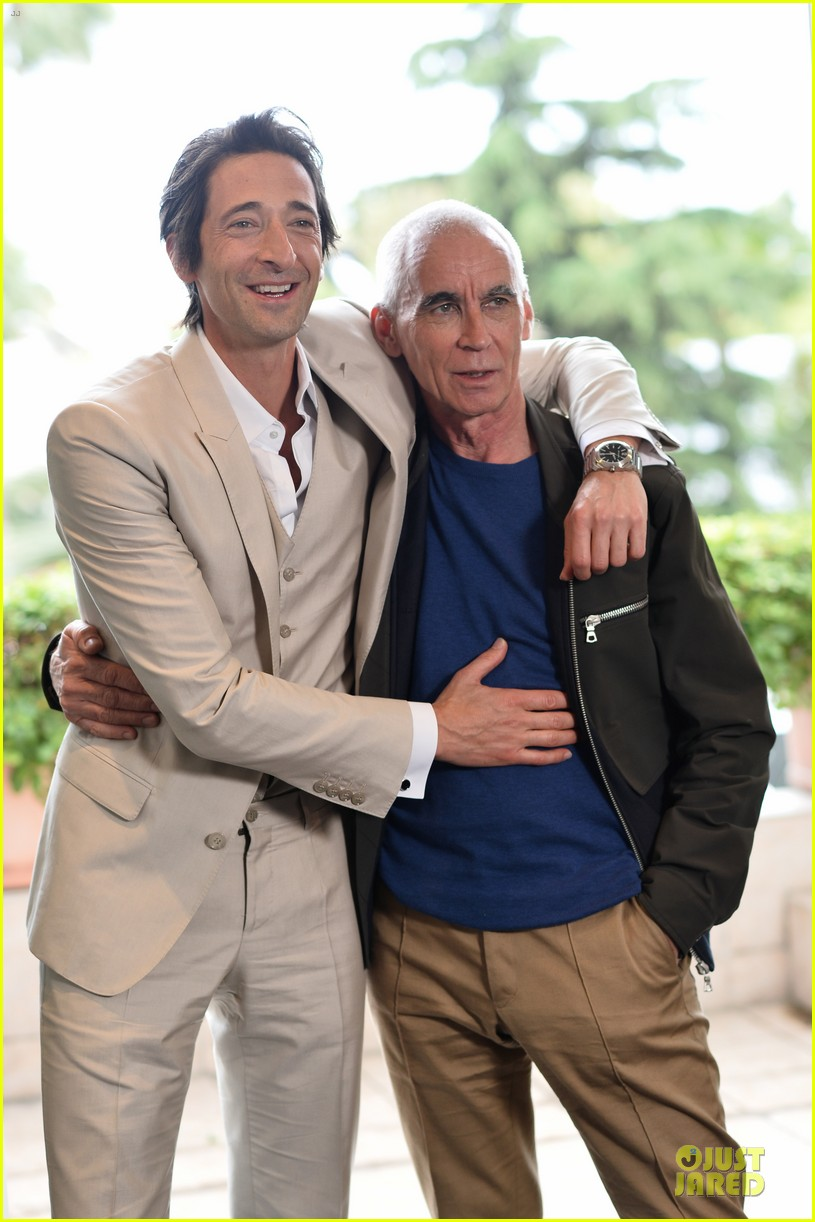 adrien brody chest hair at cannes 013117674