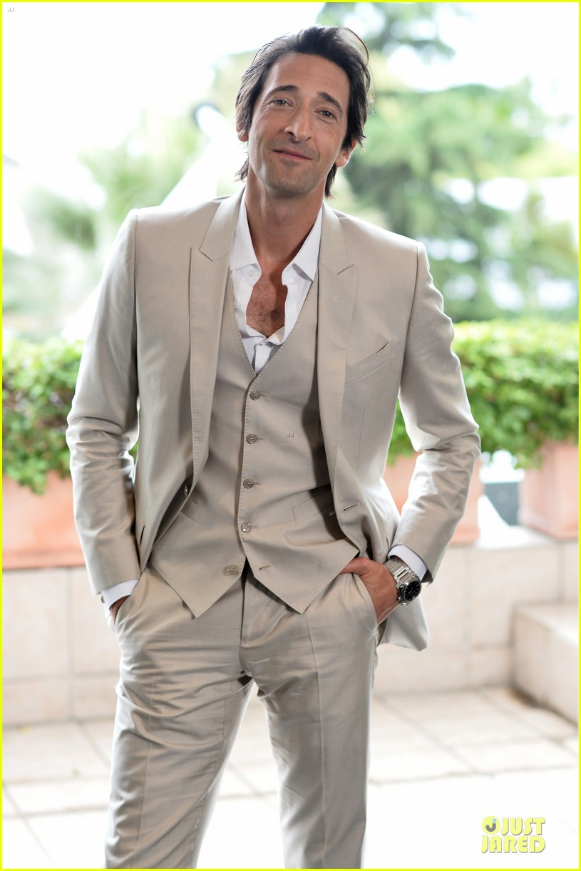adrien brody chest hair at cannes 033117676