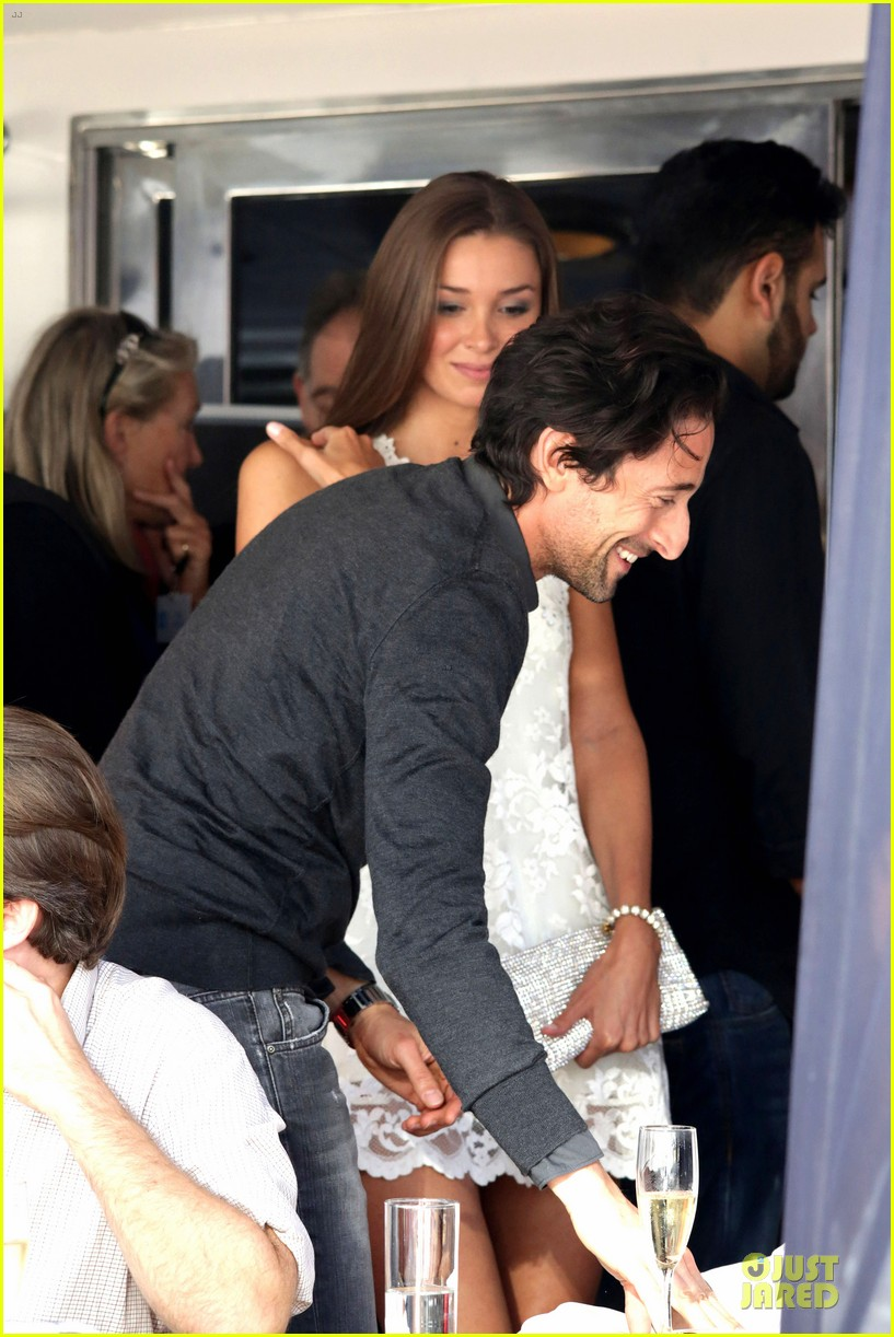 adrien brody chest hair at cannes 123117685