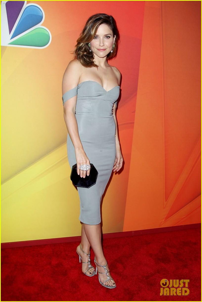 sophia bush blacklist stars promote shows at nbc upfront 15