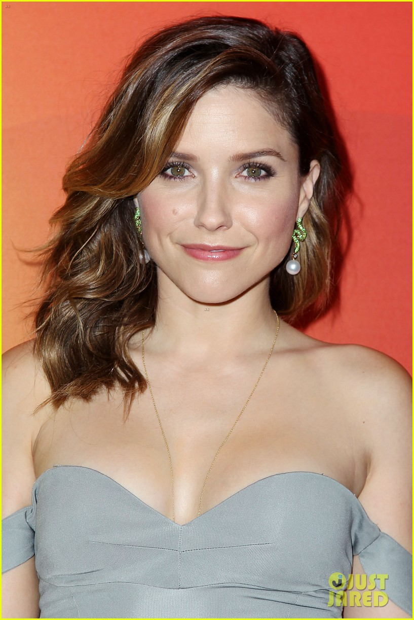 sophia bush blacklist stars promote shows at nbc upfront 173111733
