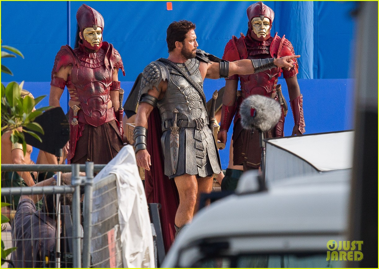 gerard butler gods of egypt filming 093122592