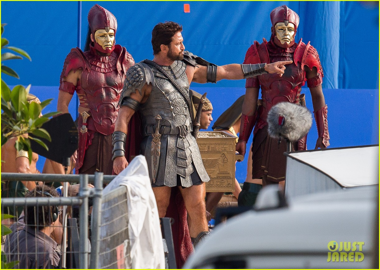 gerard butler gods of egypt filming 10