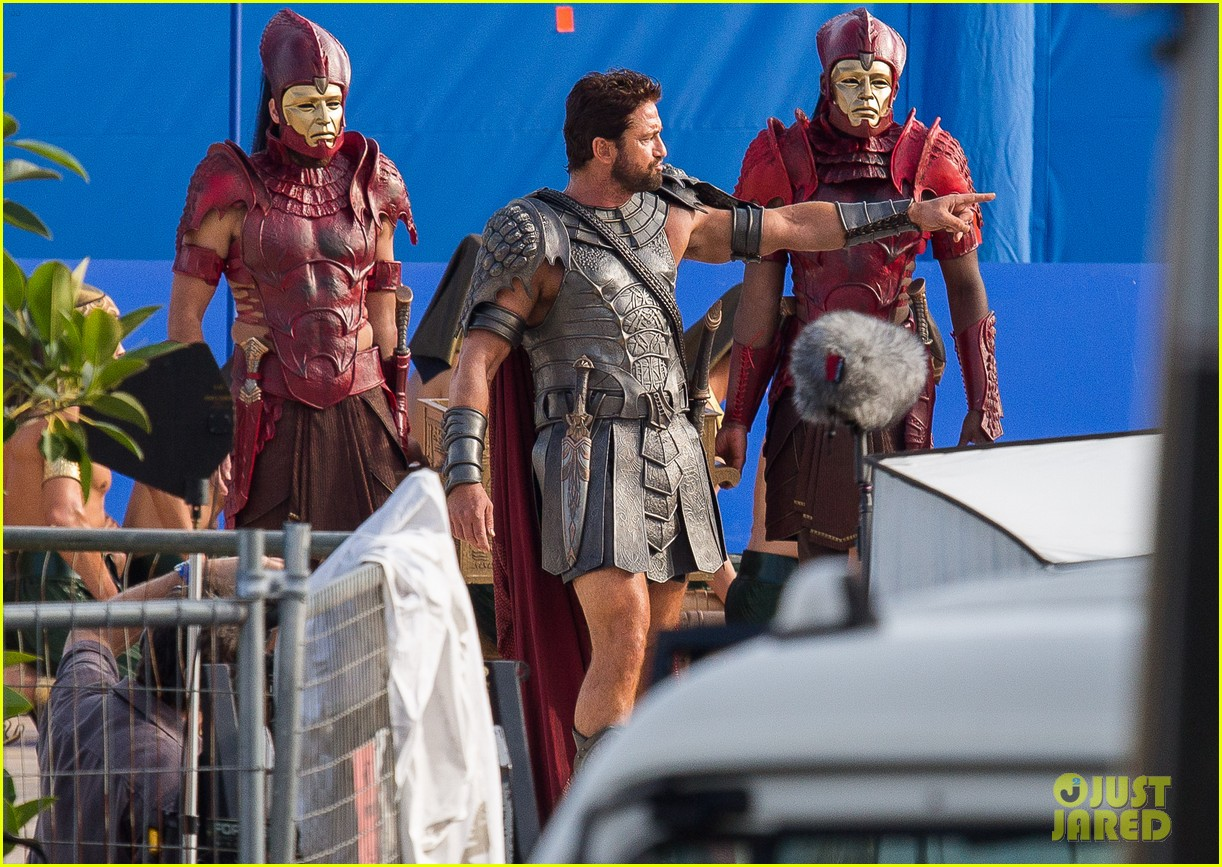 gerard butler gods of egypt filming 11