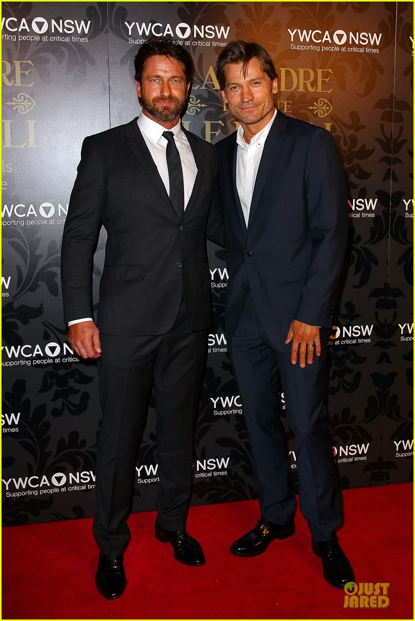 gerard butler nikolaj coster waldau ycma mother of all balls 013121130