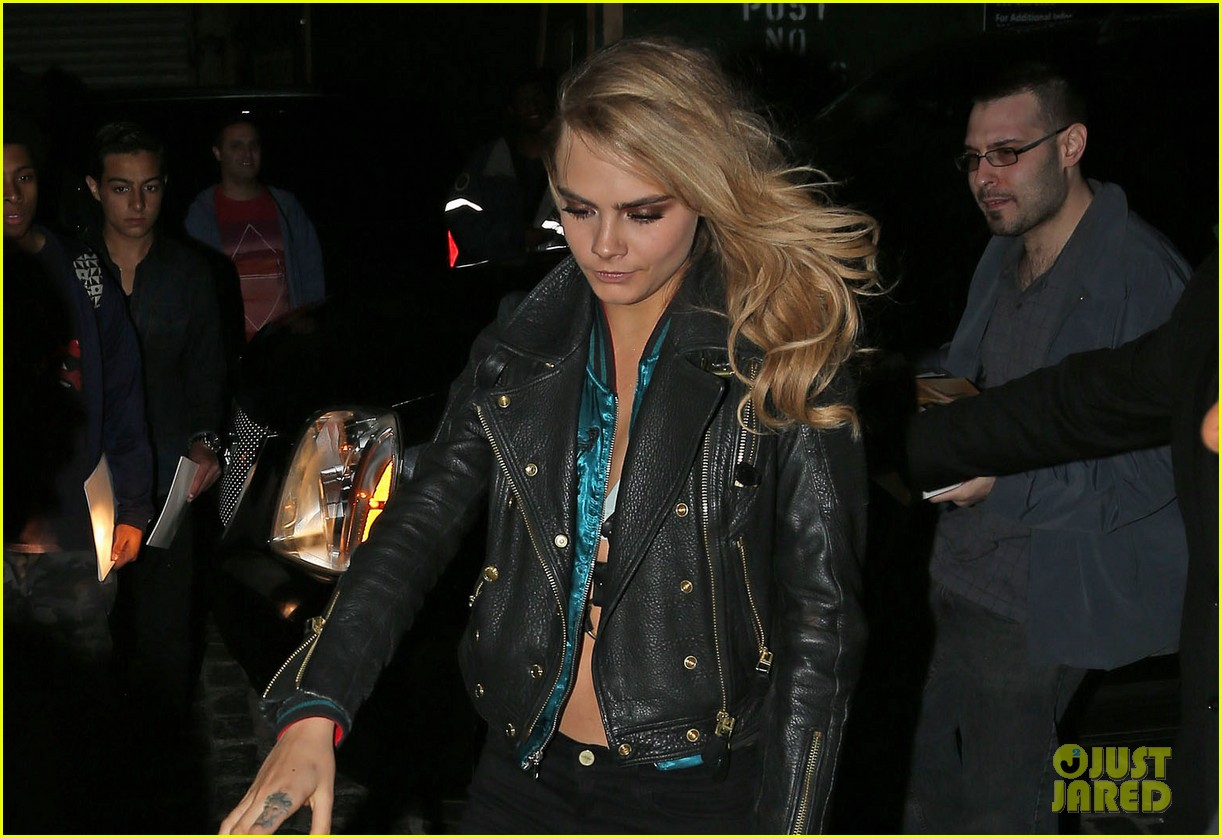 cara delevingne changes up her outfit for met ball after party 2014 023106747