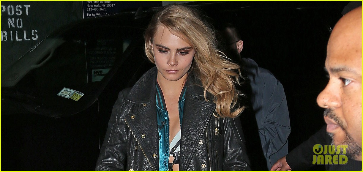 cara delevingne changes up her outfit for met ball after party 2014 033106748