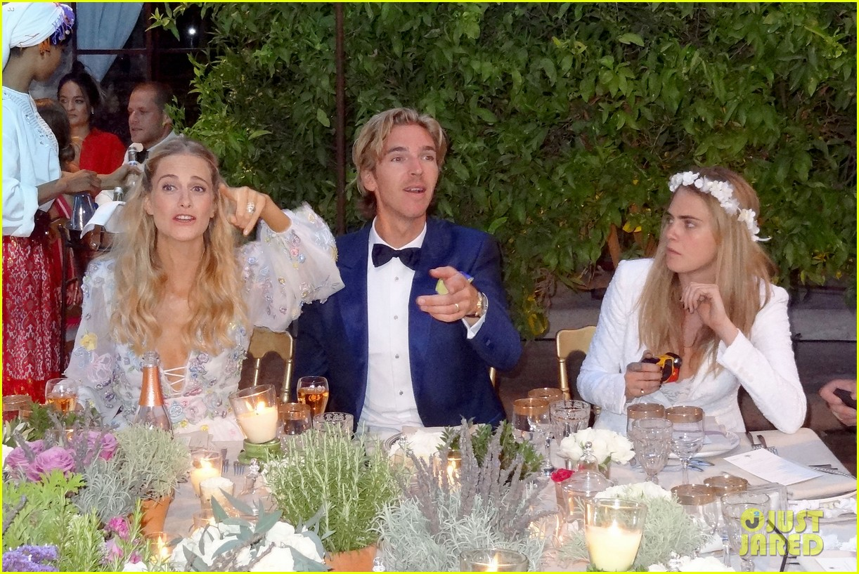 cara delevingne sister poppy second wedding morocco 083122400