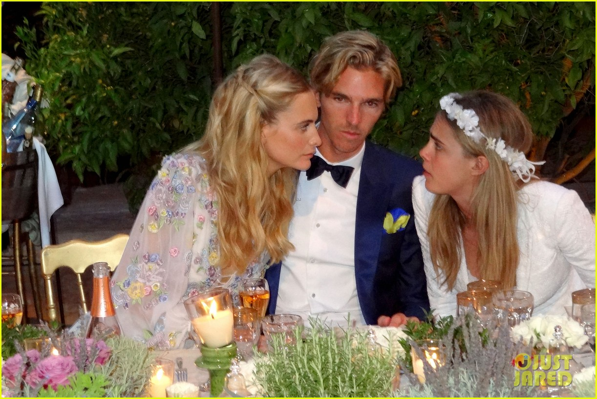 cara delevingne sister poppy second wedding morocco 103122402