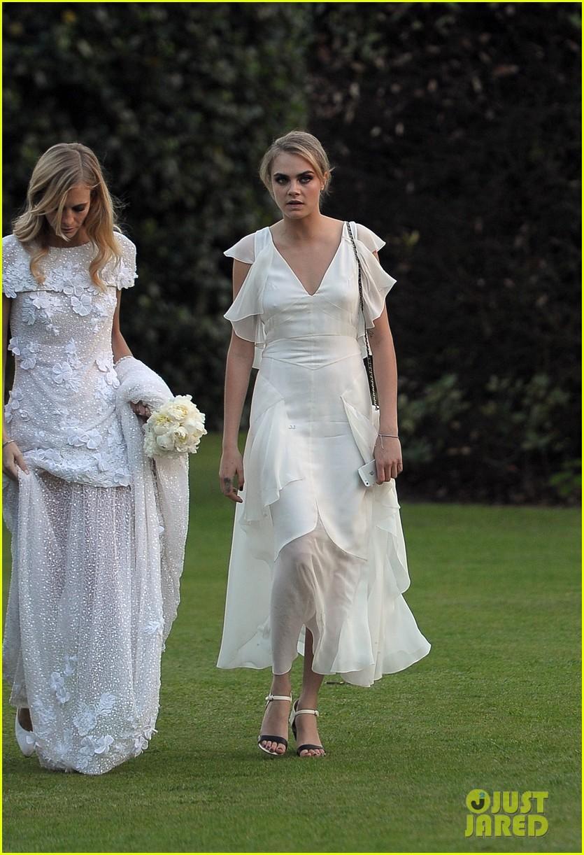 cara delevingne sister poppys wedding 243115989
