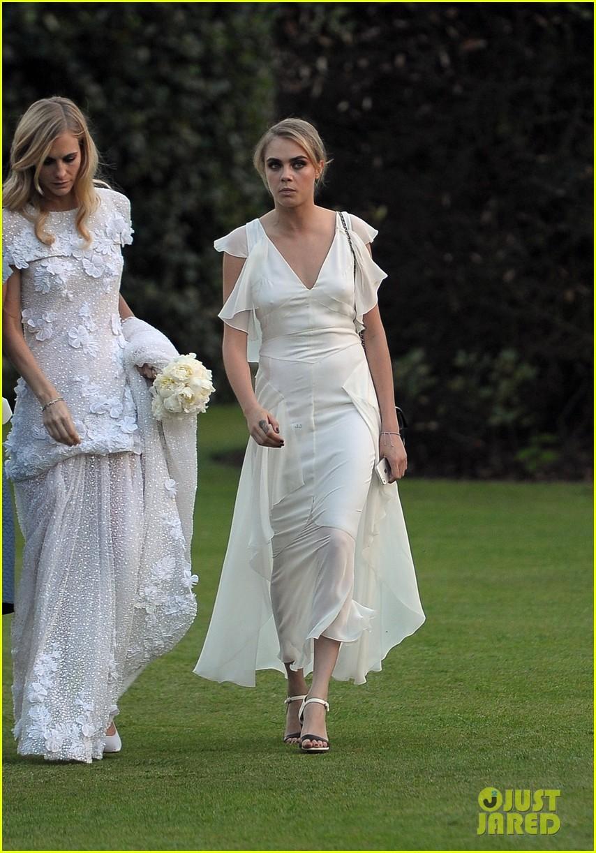 cara delevingne sister poppys wedding 253115990