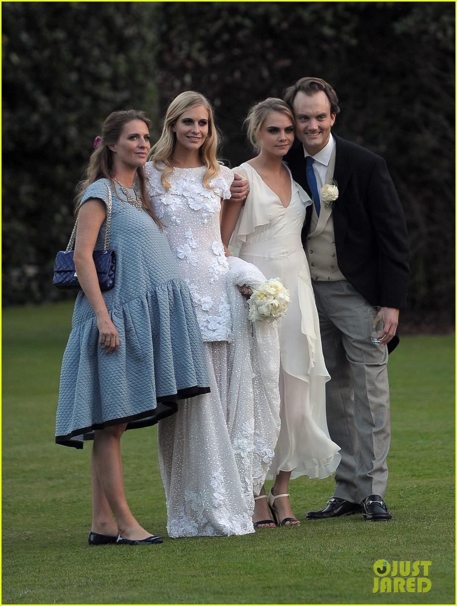cara delevingne sister poppys wedding 263115991