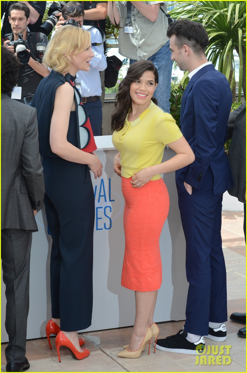 cate blanchett america ferrera bring color to how to train your dragon cannes 013114978