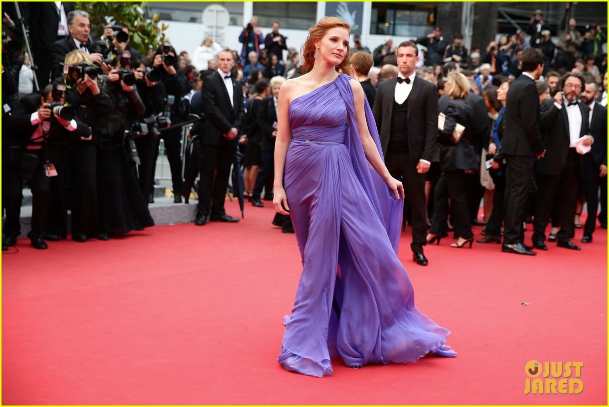 jessica chastain foxcatcher cannes premiere 103117414
