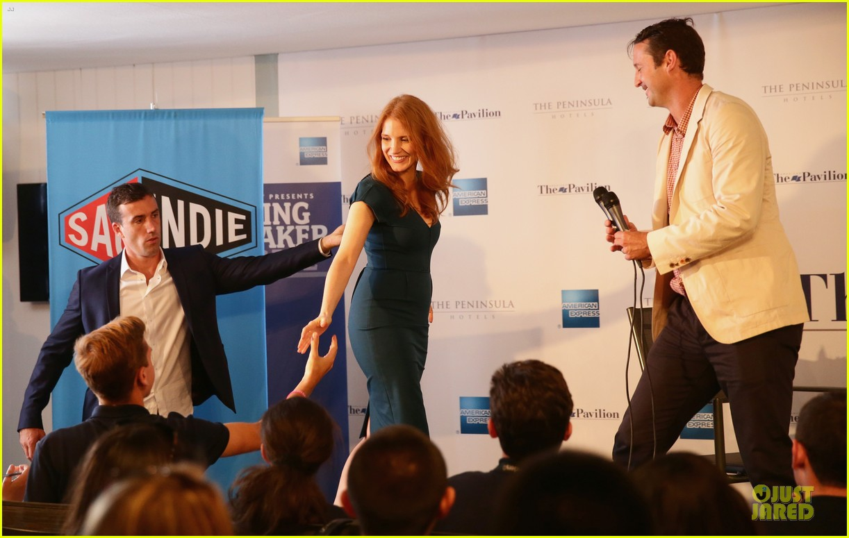 jessica chastain inspiring to students at cannes 033118274