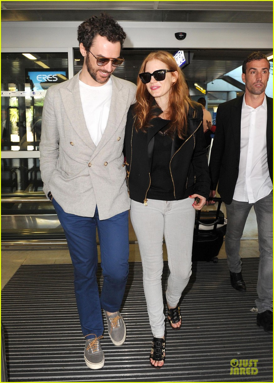 jessica chastain boyfriend bring love to nice 01