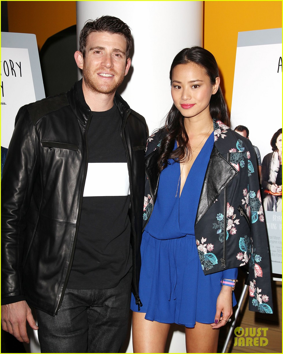 jamie chung supports bryan greenberg at short history of decay 09